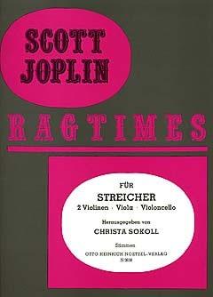 Ragtimes für Streicher - Quartett - JOPLIN - laflutedepan.com