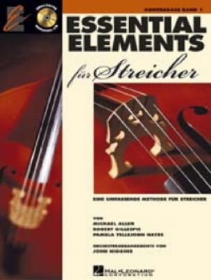 Essential Elements Für Streicher - Contrebasse - laflutedepan.com