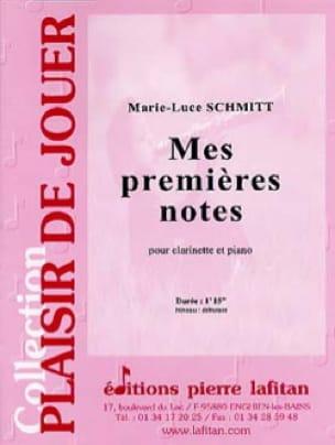 Mes premières notes - Marie-Luce Schmitt - laflutedepan.com