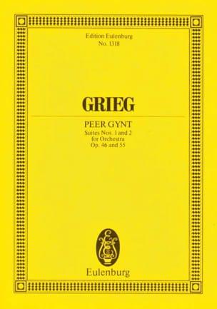 Peer-Gynt Suites 1 & 2 GRIEG Partition Petit format - laflutedepan