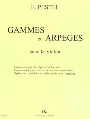 Gammes et Arpèges E. Pestel Partition Violon - laflutedepan