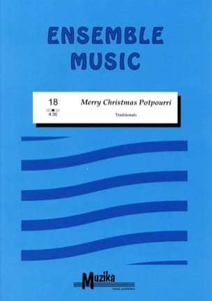 Merry Christmas potpourri -Ensemble Partition laflutedepan