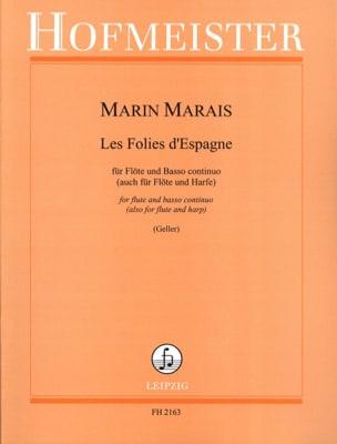 Les Folies d' Espagne - Flöte u. Bc Marin Marais laflutedepan
