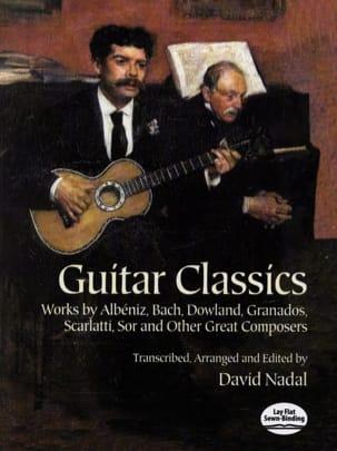 Guitar classics David Nadal Partition Guitare - laflutedepan