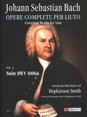 Suite BWV 1006a BACH Partition Luth - laflutedepan