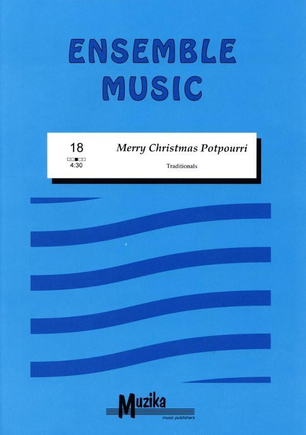Merry Christmas potpourri -Ensemble - laflutedepan.com