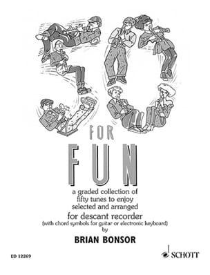 50 for Fun - Descand recorder Brian Bonsor Partition laflutedepan