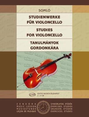 Studienwerke for Violoncello Klara Somlo Partition laflutedepan