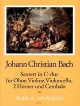 Sextett In C-Dur -oboe Violine Violoncello 2 Hörner Cembalo laflutedepan