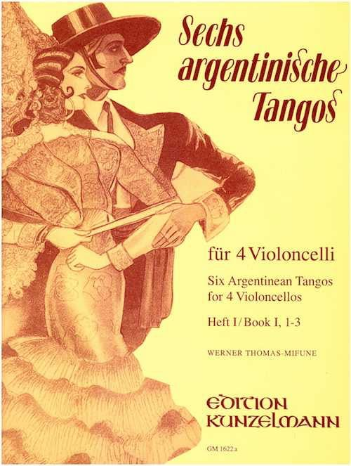 6 Argentinische Tangos - Heft 1 1-3 - laflutedepan.com