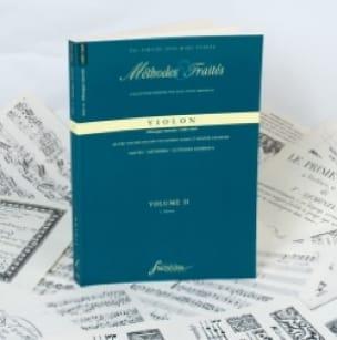 Méthodes et Traités Violon Série 7 - Vol.2 - laflutedepan.com
