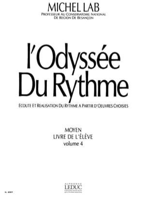 L' Odyssée du Rythme - Volume 4 - Elève Michel Lab laflutedepan