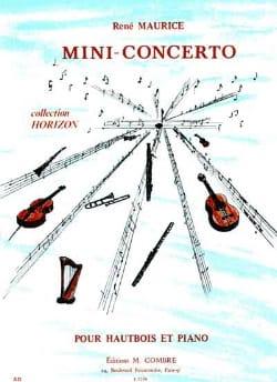 Mini-Concerto René Maurice Partition Hautbois - laflutedepan
