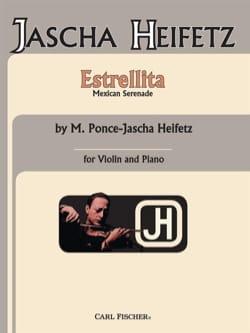 Estrellita Ponce Manuel Maria / Heifetz Jascha Partition laflutedepan