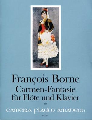 Carmen-Fantaisie François Borne Partition laflutedepan