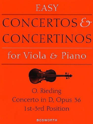 Concerto op. 36 D-Dur - Viola - Oskar Rieding - laflutedepan.com