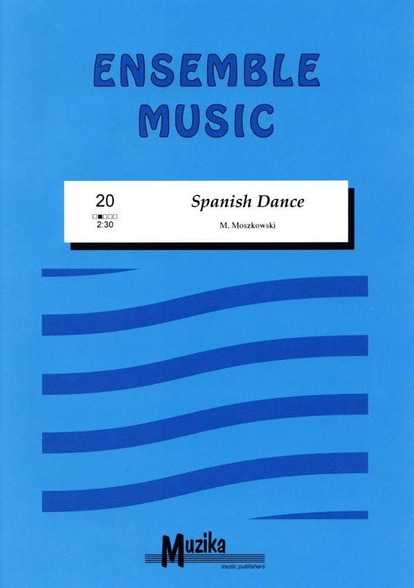 Spanish dance -Ensemble - Moritz Moszkowski - laflutedepan.com