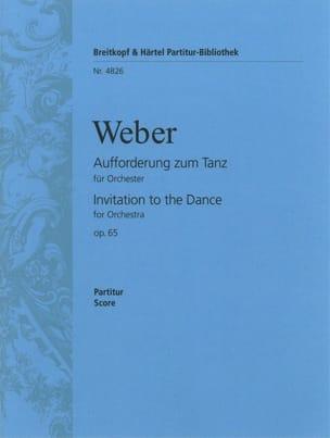 Aufforderung zum Tanz - Conducteur Carl Maria von Weber laflutedepan
