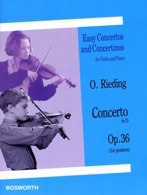 Oskar Rieding - Concerto op. 36 in D - Violino - Partition - di-arezzo.it