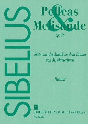 Pelléas et Mélisande, op. 46 - Partitur SIBELIUS laflutedepan