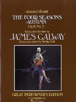 Autumn Four seasons op. 8 n° 3 - Flute piano VIVALDI laflutedepan