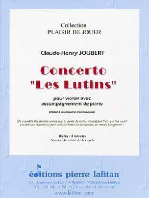 Concerto Les lutins Claude-Henry Joubert Partition laflutedepan