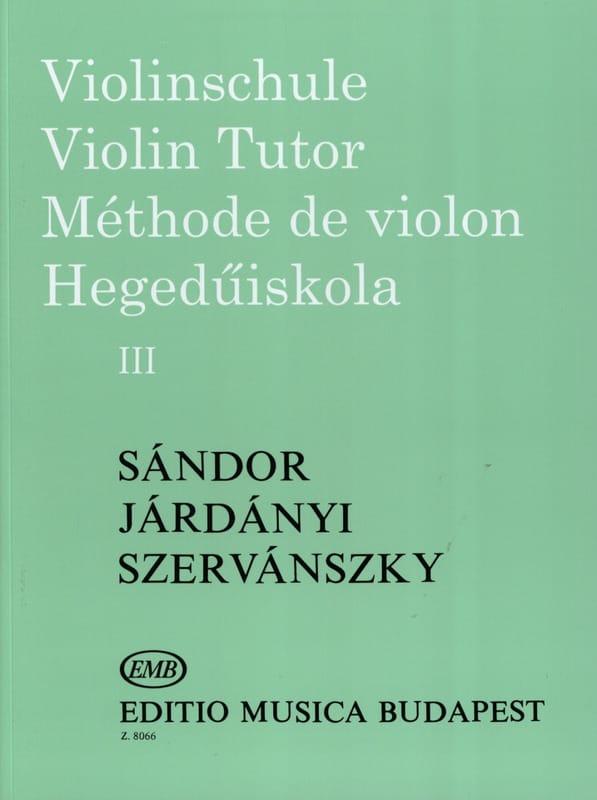 Méthode de Violon Volume 3 - laflutedepan.com
