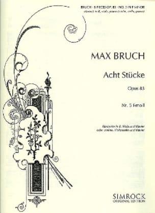 8 Stücke op. 83, n° 5 f-moll -Klarinette Viola Klavier - laflutedepan.com
