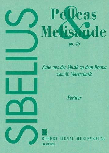 Pelléas et Mélisande, op. 46 - Partitur - SIBELIUS - laflutedepan.com