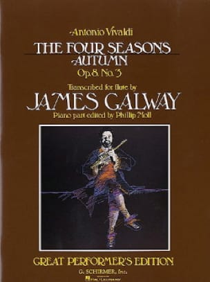 Autumn Four seasons op. 8 n° 3 - Flute piano - laflutedepan.com