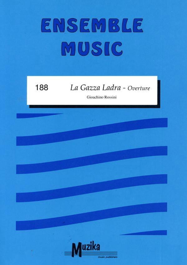 La Gazza Ladra - Ouverture - ROSSINI - Partition - laflutedepan.com