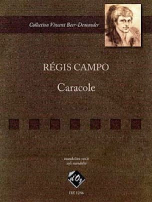 Caracole - Regis Campo - Partition - Mandoline - laflutedepan.com