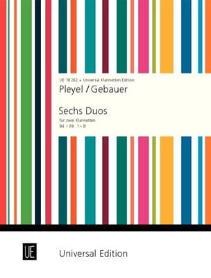 6 Duos für 2 Klarinetten - Bd. 1 Nr. 1-3 laflutedepan