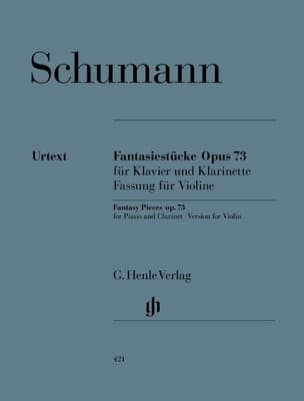 Fantasiestücke Op. 73 Version pour violon et piano laflutedepan