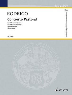 Concierto Pastoral - Flöte Klavier RODRIGO Partition laflutedepan