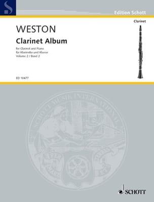 Clarinet Album - Volume 2 Pamela Weston Partition laflutedepan
