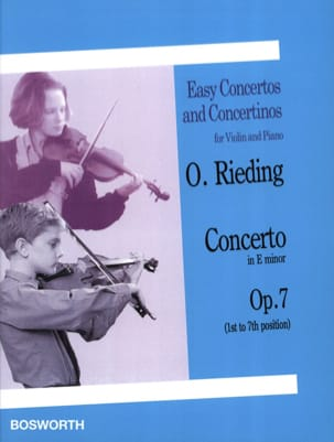 Oskar Rieding - Concerto op. 7 in Mi minore - Partition - di-arezzo.it