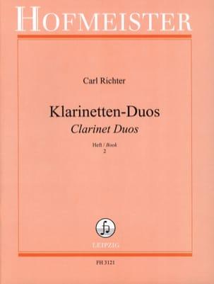 Klarinetten-Duos - Heft 2 - Partition - laflutedepan.com