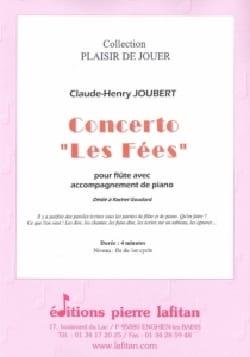 Concerto Les fées Claude-Henry Joubert Partition laflutedepan