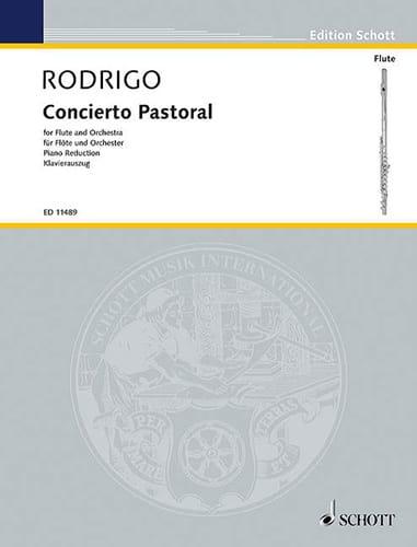 Concierto Pastoral - Flöte Klavier - RODRIGO - laflutedepan.com