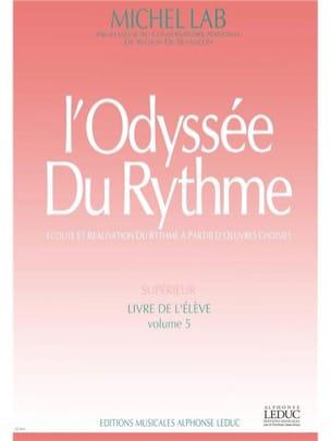L' Odyssée Du Rythme - Volume 5 - Elève Michel Lab laflutedepan