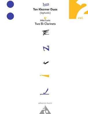 Ten Klezmer Duos (Sephardic) Vol.2 - Mike Curtis - laflutedepan.com