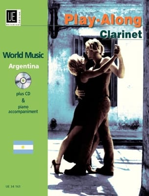 Play-Along Clarinet - Argentina Partition Clarinette - laflutedepan