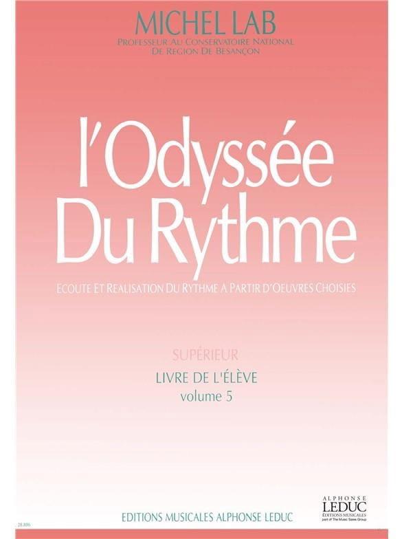 L' Odyssée Du Rythme - Volume 5 - Elève - laflutedepan.com
