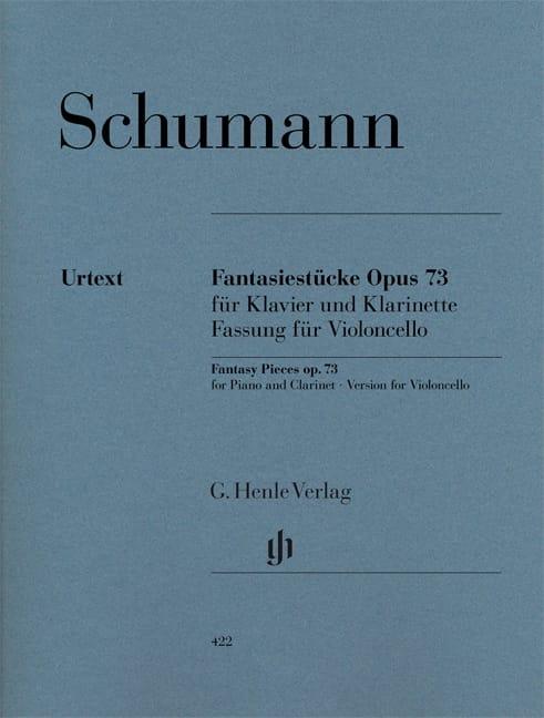 Fantasiestücke op. 73 - Violoncelle - SCHUMANN - laflutedepan.com