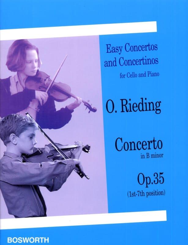Concerto op. 34 in G - Violin - Oskar Rieding - laflutedepan.com