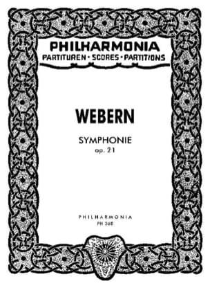 Symphonie op. 21 - Partitur WEBERN Partition laflutedepan