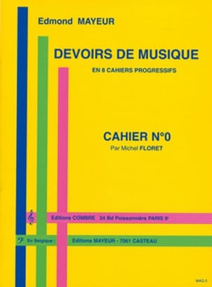 Edmond Mayeur - Duties of music n ° 0 - Partition - di-arezzo.co.uk