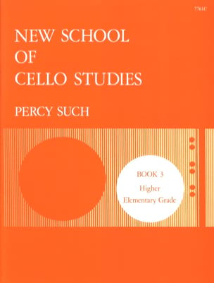 New School Of Cello Studies Volume 3 Percy Such Partition laflutedepan
