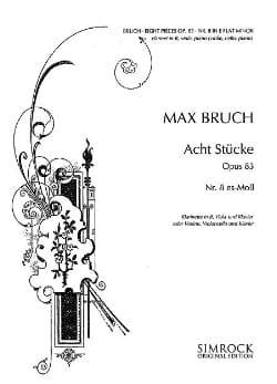 8 Stücke op. 83, n° 8 es-moll - Klarinette Viola Klavier laflutedepan
